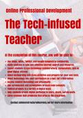 Online PD- Tech-infused Teacher