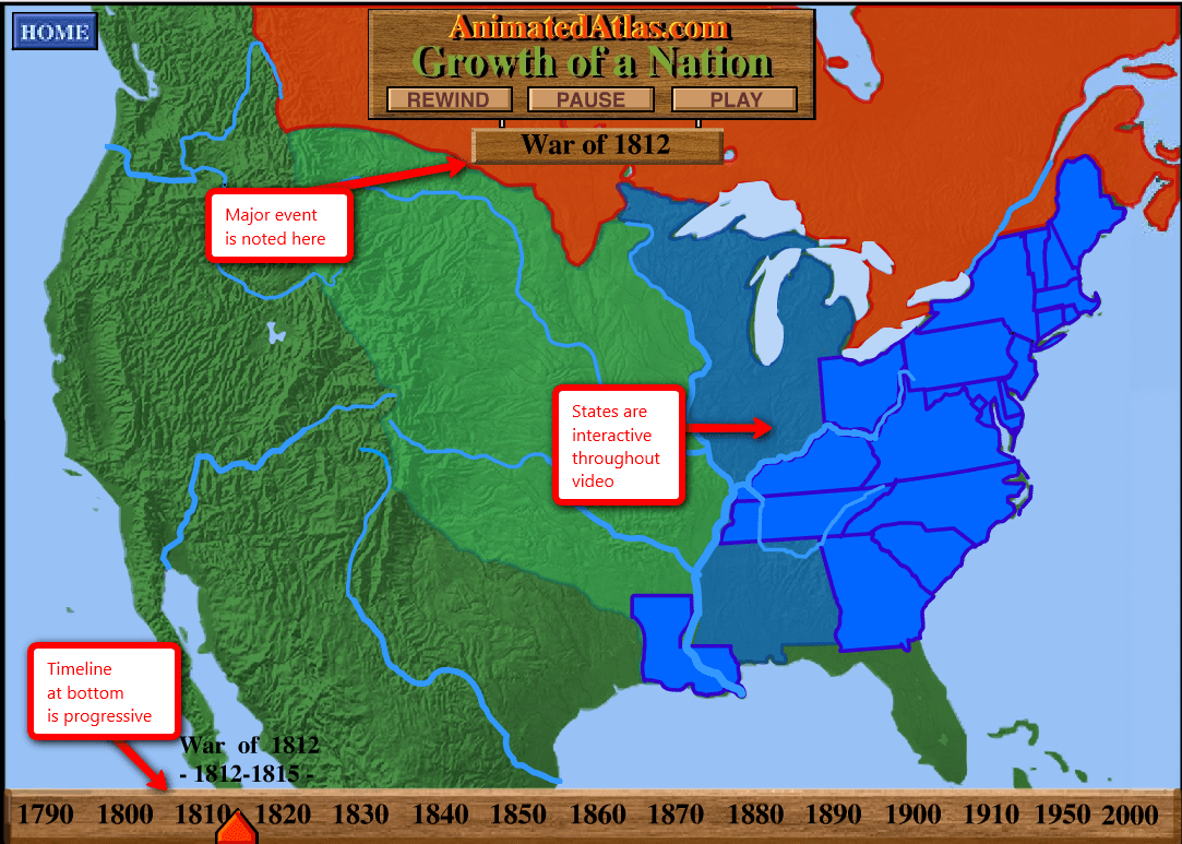 Don T Miss This Westward Expansion Website