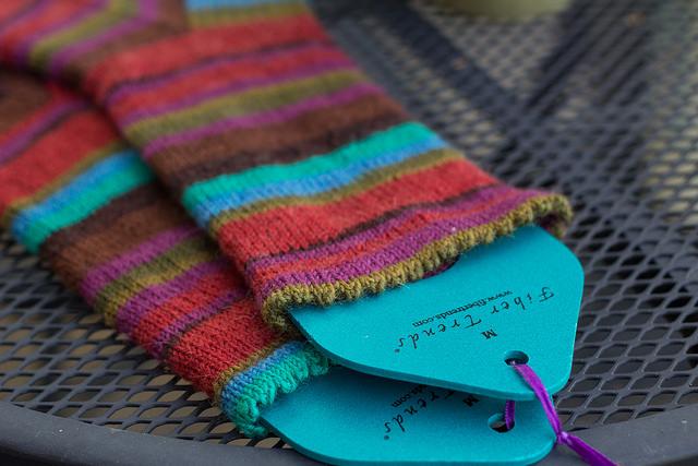 picot socks