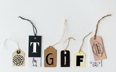 TGIF – A Holiday Weekend Edition!