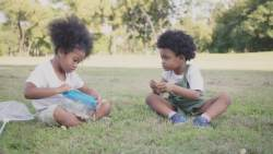 Paracetamol During Pregnancy safety question two african children playing in the grass