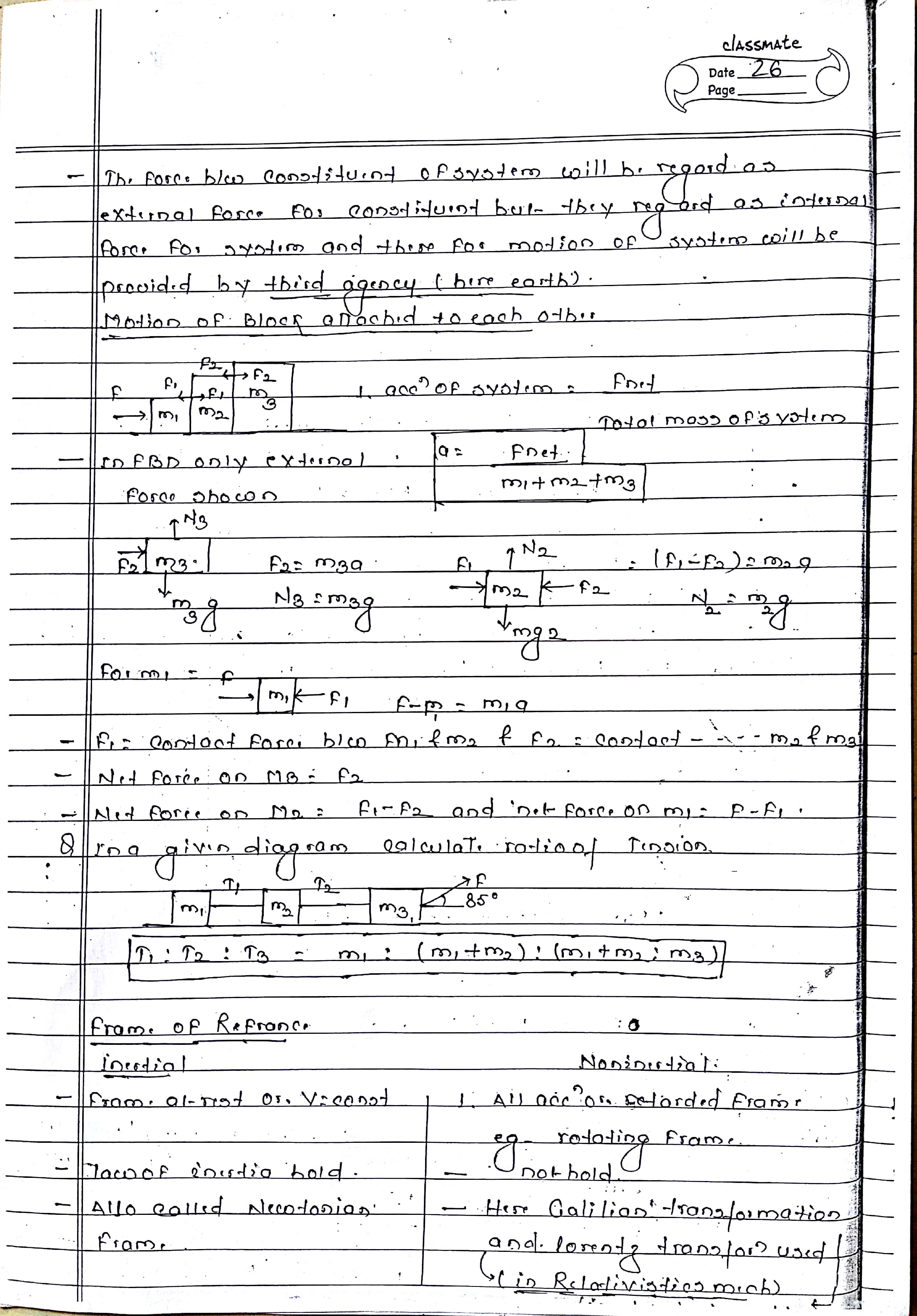 Newton S Law Of Motion Notes For Neet Aiims And Iit Jee