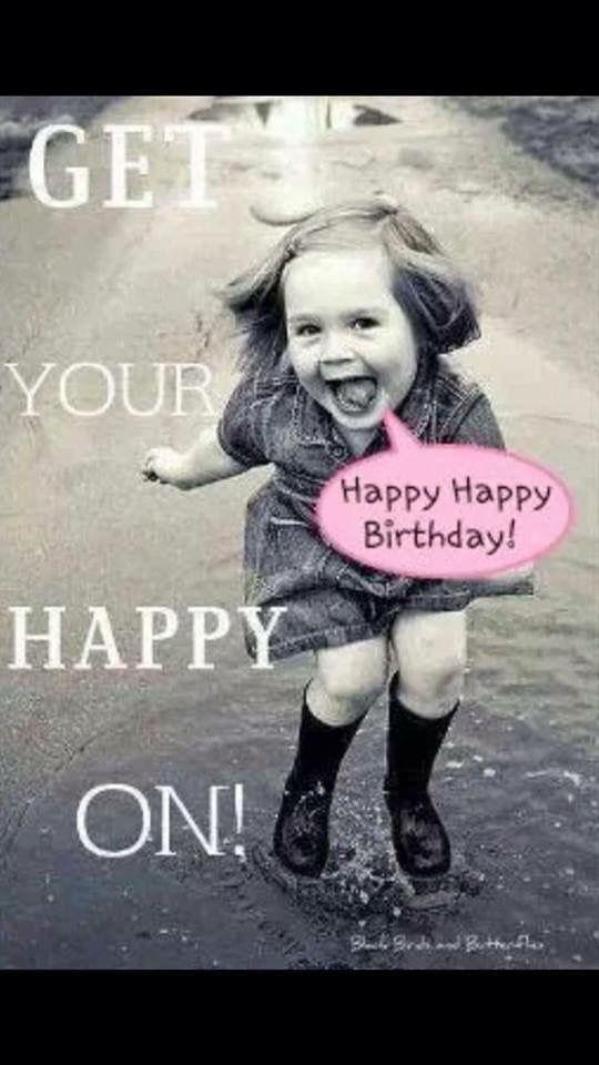 Ecard Happy Birthday Girl Crazy