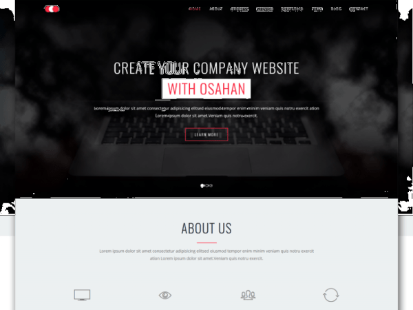 Osahan Business Bootstrap Responsive Website Template