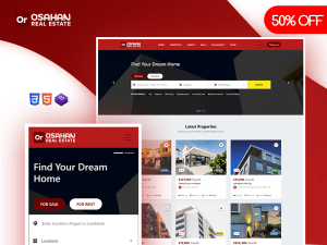Osahan Real Estate - Bootstrap 4 Light Theme