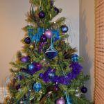 Cristhmas Tree Decorations Ideas Blue And Peacock Christmas Tree Ask Christmas Home Of Christmas Inspiration Deals