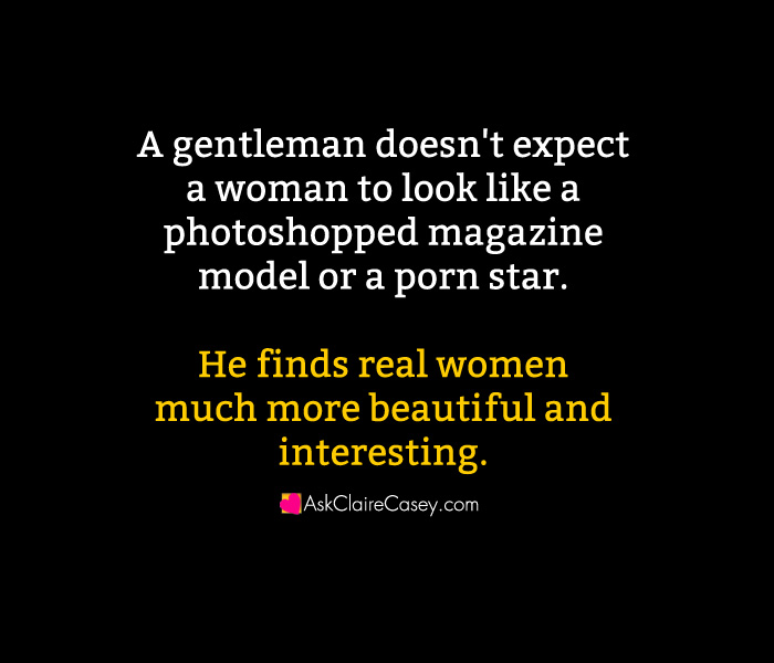 why be a gentleman