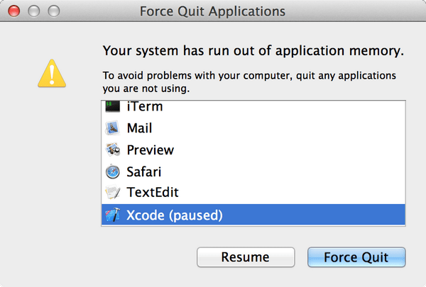 Mac Error Run Out Of Application Memory Fix Ask Dave Taylor