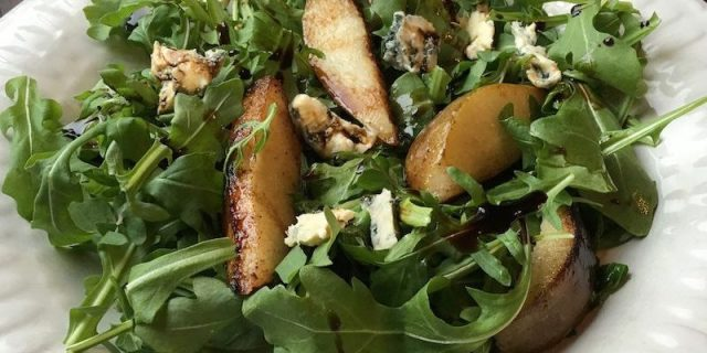 This incredible Roasted Pear Salad is yet another example of simple ingredients yielding outstanding results.