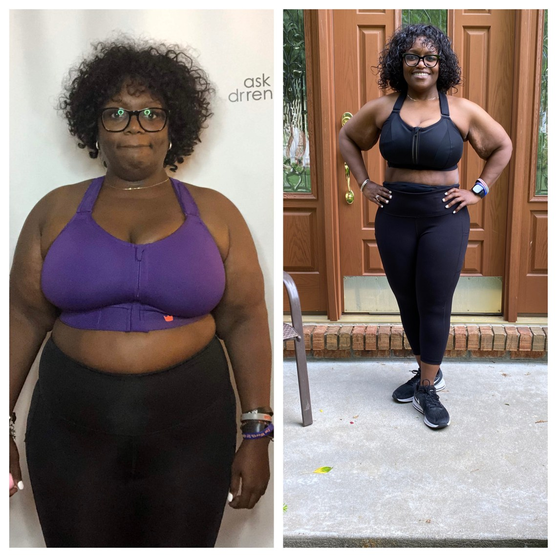 ask dr. renee, before & after, incredibleshrinkingdoc, fat loss, weight loss, weight watchers, hidrate, Renpho, peloton, achievement, miles, scale, health, transformation, water, food