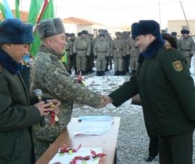 новоселье армия казахстана