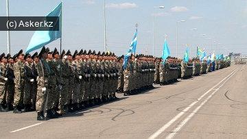 служба в армии казахстана