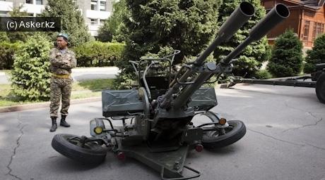23-мм спаренная установка ЗУ-23-2