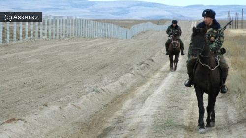 пограничники казахстана на лошадях