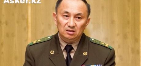 Исполняющий обязанности директора пограничной службы КНБ Казахстана Турганбек Стамбеков