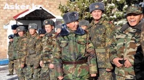 Военнослужащие Кыргызстана
