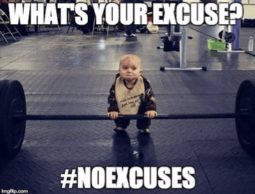 Why I CHOOSE to live with #NoExcuses