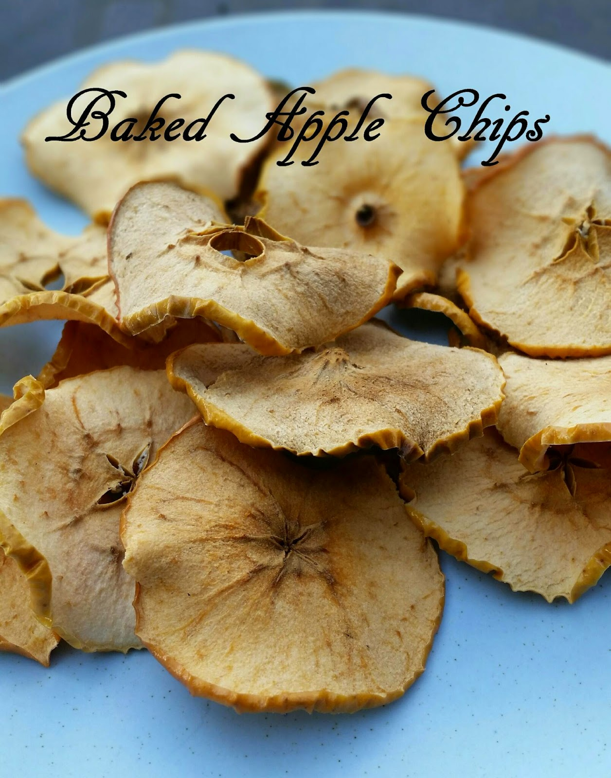 Recipe Wednesday – Baked Apple Chips