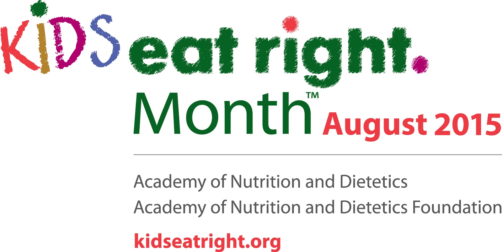 """National """"Kids Eat Right"""" Month"""