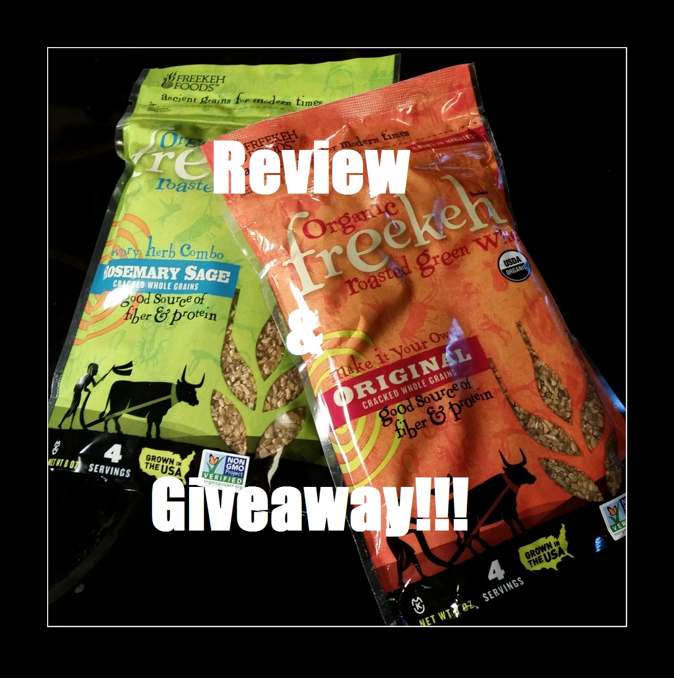 Freekeh Review and Giveaway