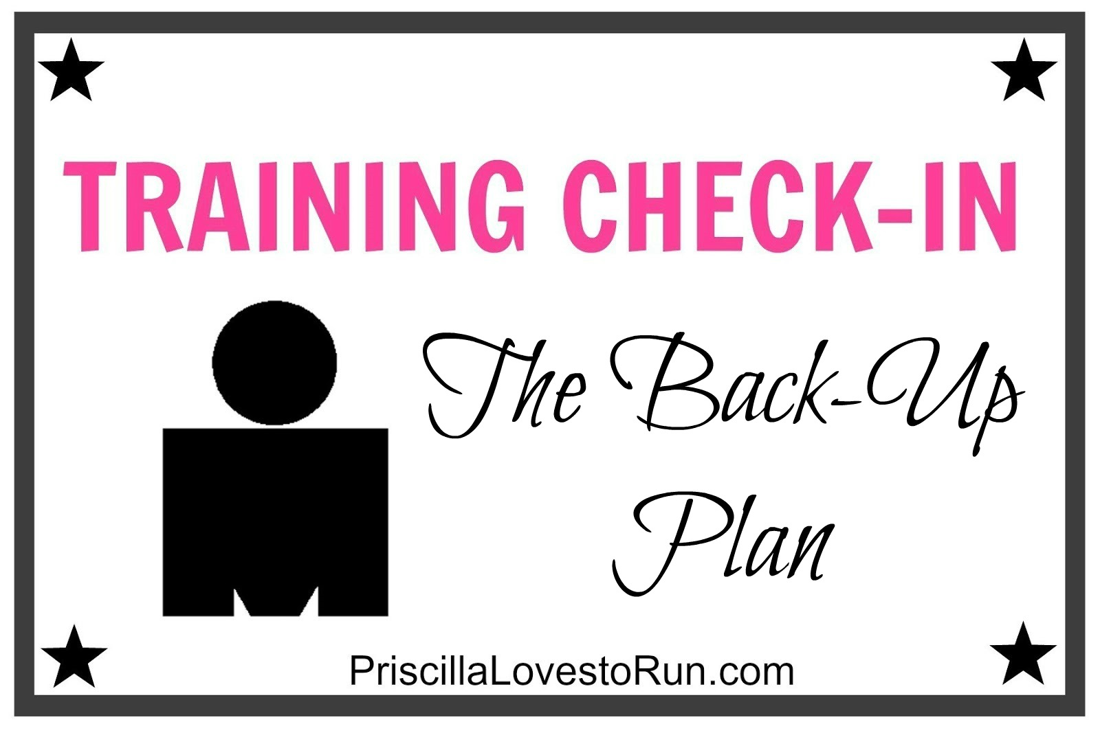 Training Check-in: Ironman – The Back Up Plan