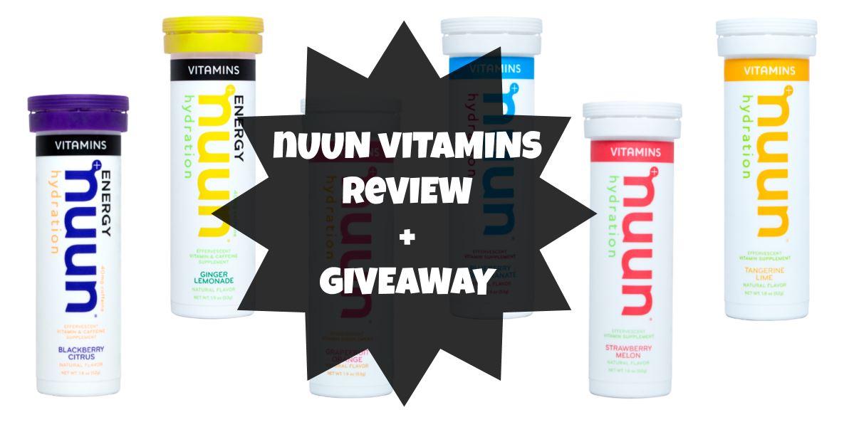 Nuun Vitamins – Review + Giveaway