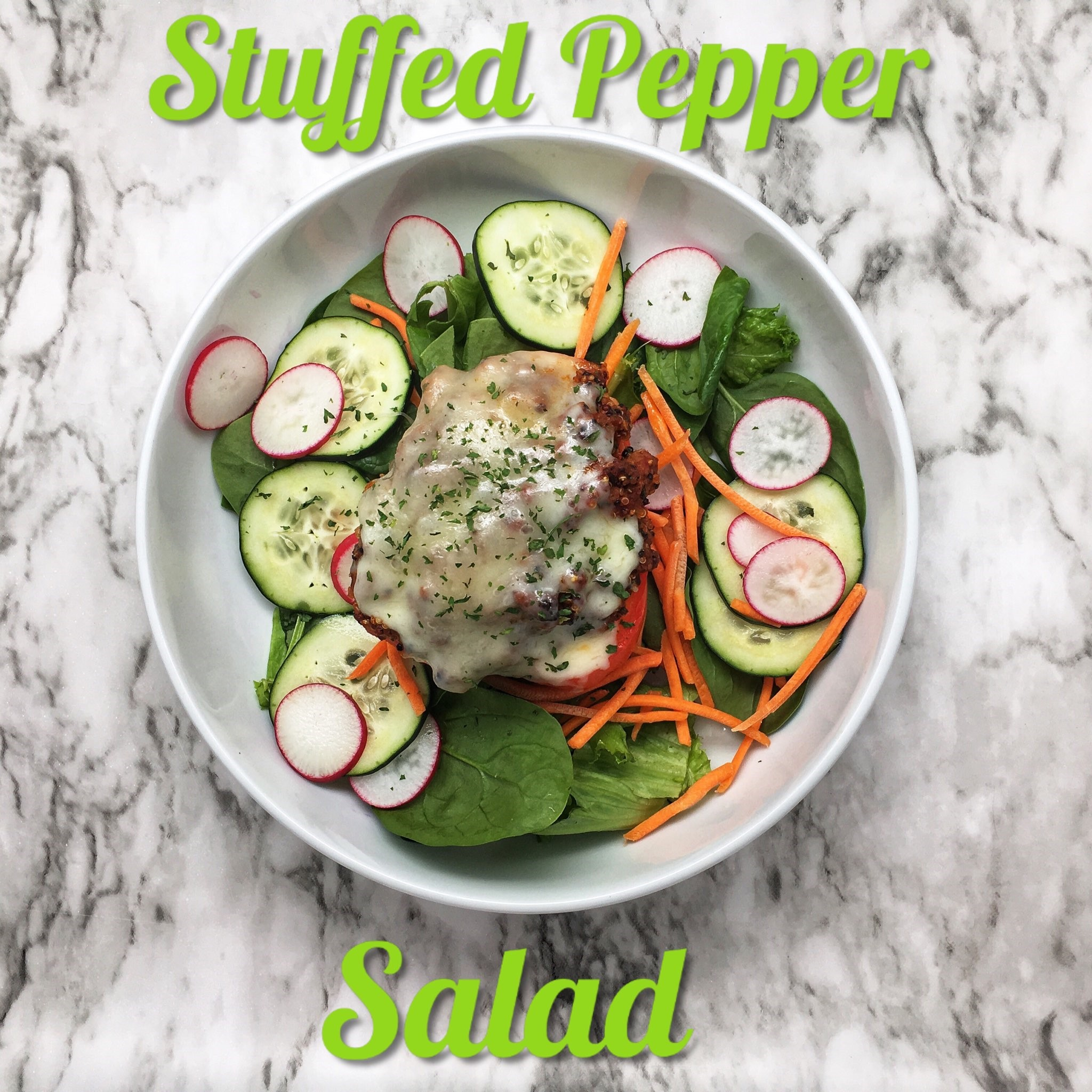 Stuffed Bell Pepper Salad
