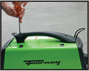 Assembling top handle