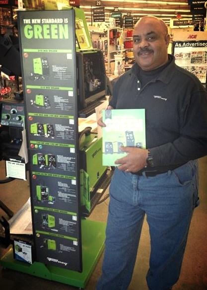Forney Industries Representative, Reggie Evans at Store Appreciation Day