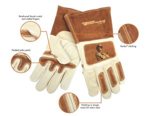 Forney Signature Welding Glove Features