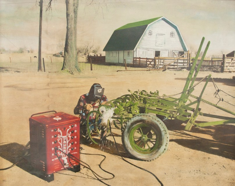 Forney welder at the farm
