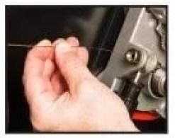 Insert wire spool