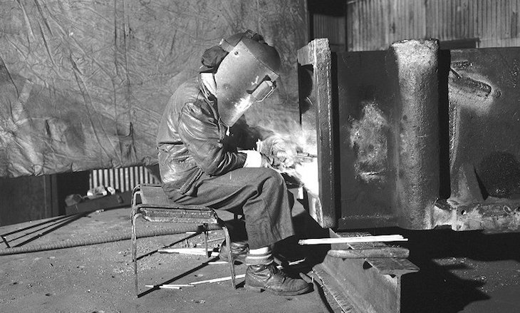 Mid to late 1900s welding