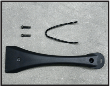 Top handle and screws