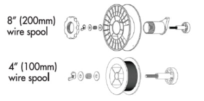 Wire Spool Diagrams