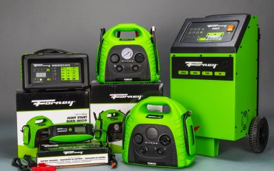 YOUR SUMMER NEEDS A FORNEY BATTERY CHARGER