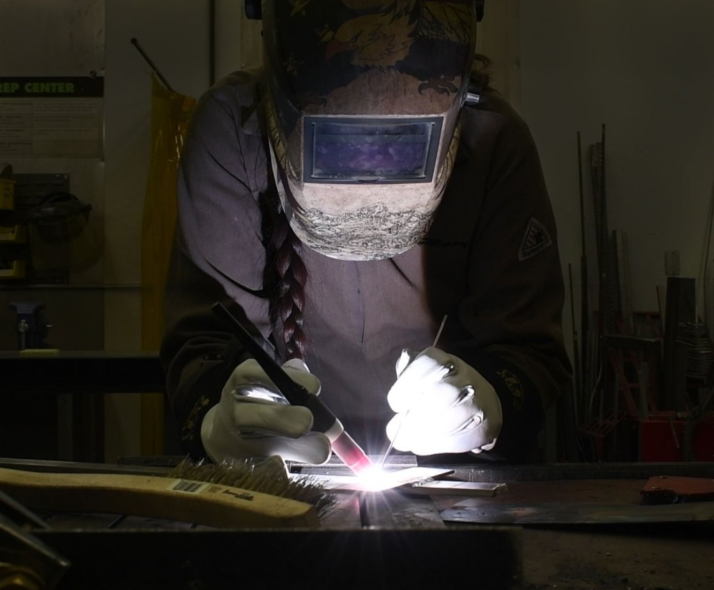 Gabby TIG welding