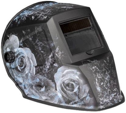 Smoking Rose Helmet