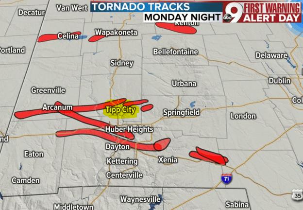 Tornado in Ohio