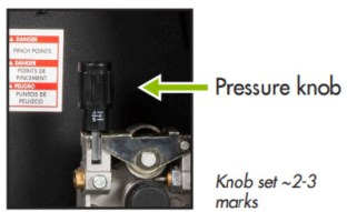 Feed Wire and Set Pressure