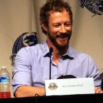 Kris Holden-Ried smiling at DragonCon 2013