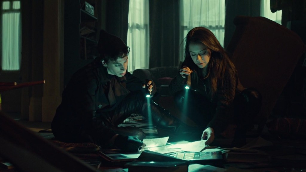 Sarah and Felix in Governed as It Were by Chance
