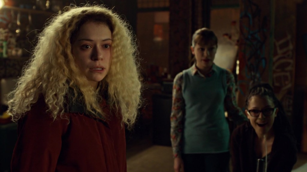 Helena Alison and Cosima in By Means Which Have Never Yet Been Tried