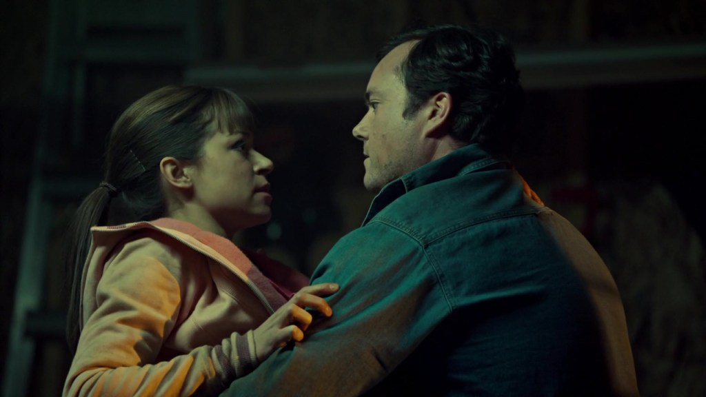 Donnie and Alison embrace in Things Which Have Never Yet Been Done