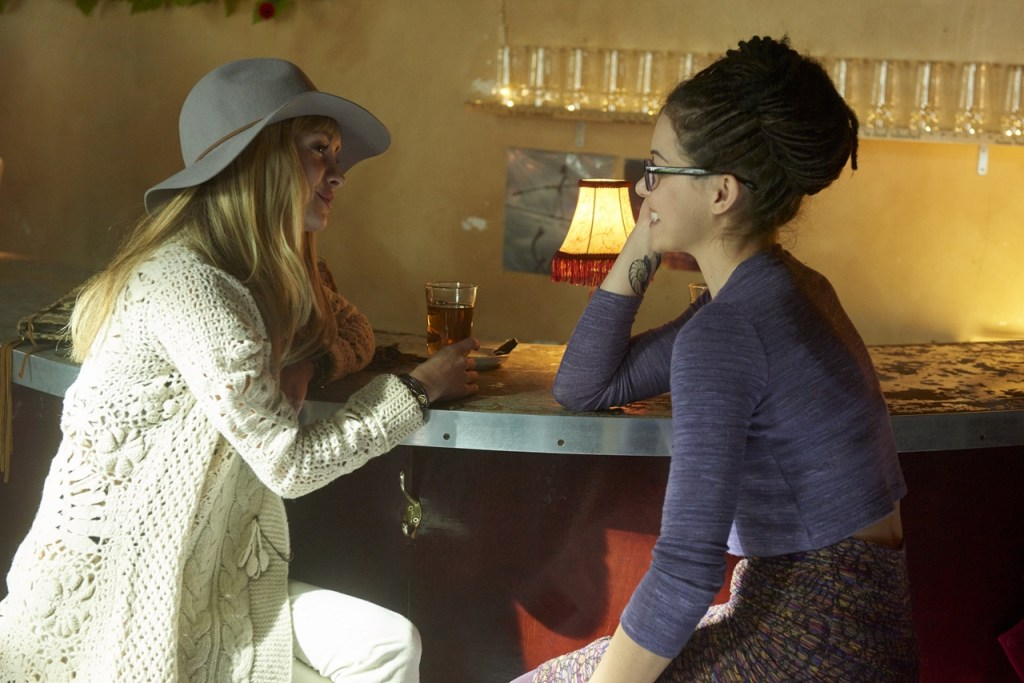Cosima and Shay in Scarred by Many Past Frustrations