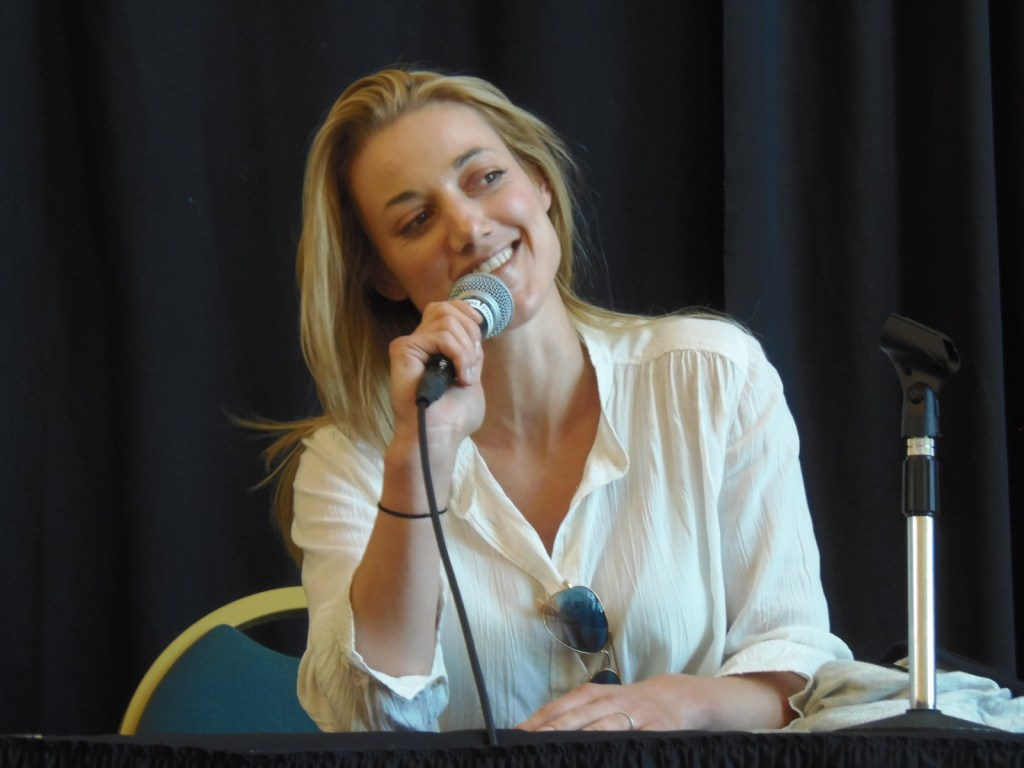 Zoie Palmer at Treasure City Comic Con