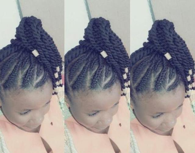 Cute Braided Hairstyles For Black Girls Simple Braids For