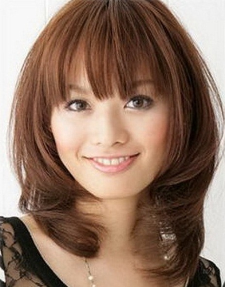 medium length haircuts thick hair 40 medium length haircuts for thick hair 3066
