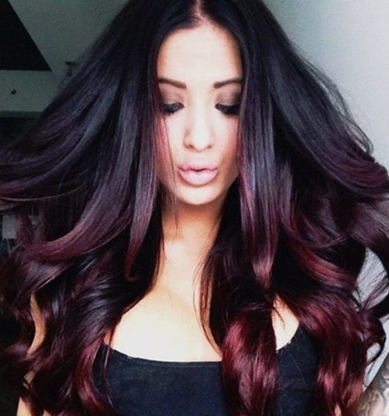 black and hair color styles 20 ombre hair color ideas brown and black hair 7084