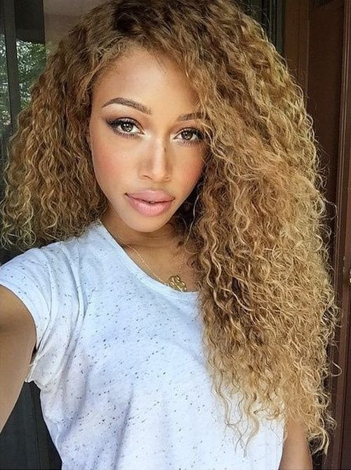 Blonde Textured Sew In Hairstyles Askhairstyles